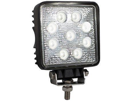 4 In. Square LED Clear Spot Light