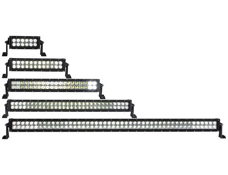 Ultra Bright Straight Double Row LED Combination Spot-Flood Light Bar