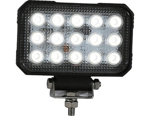 6 In. by 5 In. Rectangular LED Clear Flood Light