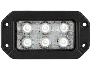 6.5 In. by 3.5 In. Rectangular LED Clear Flood Light