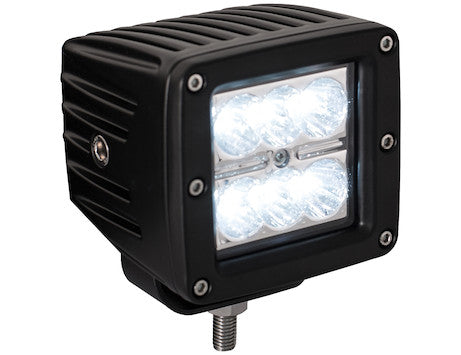 3 In. Square LED Clear Spot Light