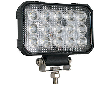 6 In. by 5 In.Rectangular LED Clear Spot Light