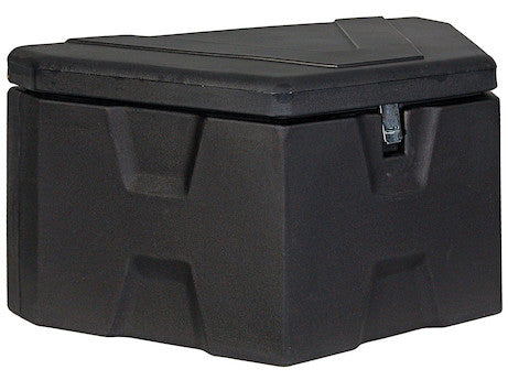 Black Poly Trailer Tongue Truck Box