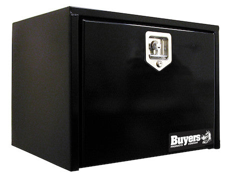 Black Steel Underbody Truck Box with T-Latch