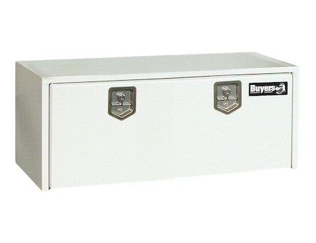 White Steel Underbody Truck Box