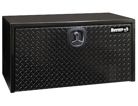 Black Steel Underbody Truck Box with Aluminum Door