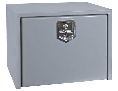 Primed Steel Underbody Truck Box with T-Handle Latch