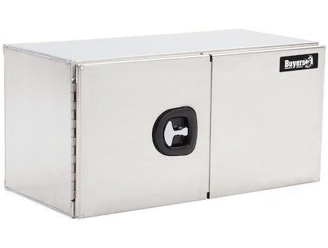 Smooth Aluminum Underbody Truck Box with Barn Door