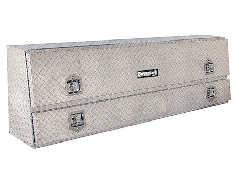 Diamond Tread Aluminum Contractor Truck Box