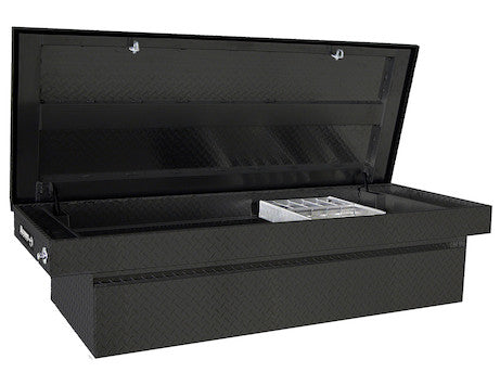 Black Diamond Tread Aluminum Crossover Truck Box
