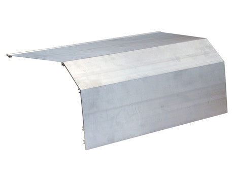 Full Top Aluminum Wind Deflector