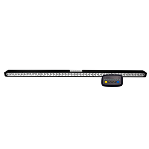 Signal Bar Kit: LED Safety Director, 9 flash patterns, in-cab controller, 35' cable, LED, 12VDC, amber