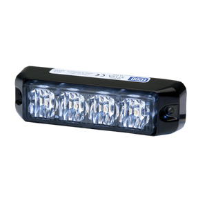 Directional LED: Rectangular surface mount, 12VDC, 9 flash patterns