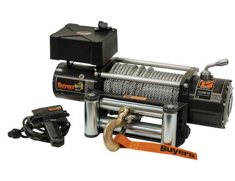 12,000 Pound Capacity Electric Winch