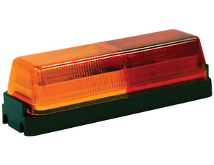 3.75 Inch Rectangular Marker/Clearance Light with 2 LEDs