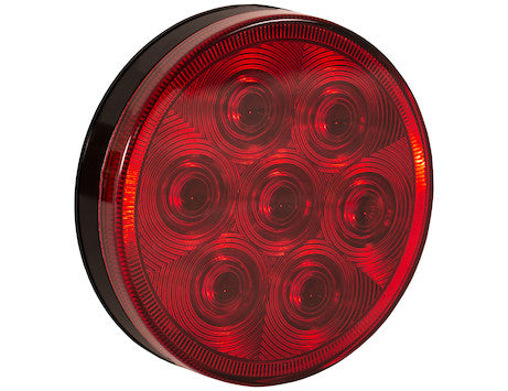 4 Inch Round Stop/Turn/Tail Light with 7 LEDs