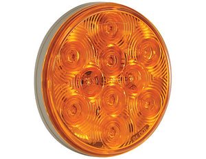 4 Inch Round Turn Signal Light with 10 LEDs