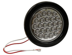 4 Inch Round Backup Light with 24 LEDs