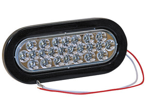 6 Inch Oval Backup Light with 24 LEDs