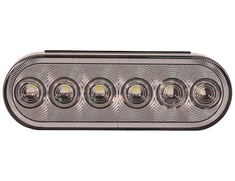 6 Inch Oval Backup Light with 6 LEDs