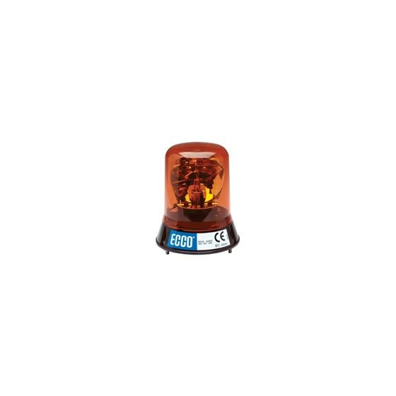 Rotating Beacon: High profile, 12VDC, 160 FPM, 3 bolt mount, amber