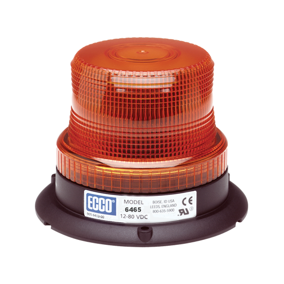 LED Beacon: Low profile, 12-80VDC, pulse8 flash