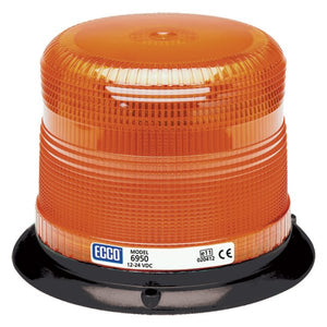 Strobe Beacon: i.beam, low profile, 12-24VDC, 15 or 20 joules, double or quad flash, high intensity