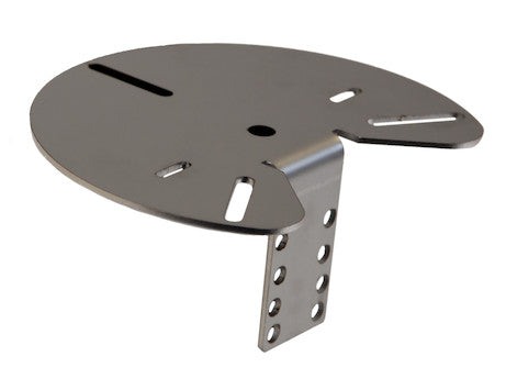 Stainless Steel Mirror-Mounted Beacon Bracket