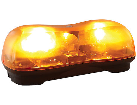 16.5 Inch by 6 Inch Halogen Revolving Light Bar