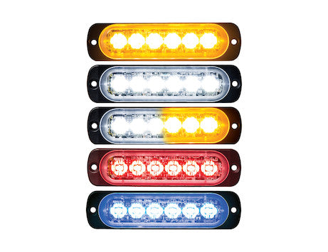 4.5 Inch Thin Mount Horizontal LED Strobe Light Series