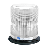 LED Beacon: Pulse II, reinforced polypropylene base, epoxy filled, medium profile, 12-48VDC, 11 flash patterns