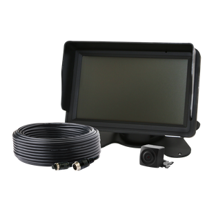 "Camera Kit: Gemineye, 5.0"" LCD, color, 4 pin, expandable up to 3 cameras, 12-24VDC (includes EC5000B-M, EC2020-C & ECTC20-4)"
