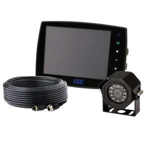 "Camera Kit: Gemineye, 5.6"" LCD, color, 4 pin, expandable up to 3 cameras, 12-24VDC (includes EC5603-M, EC2014-C & ECTC20-4)"