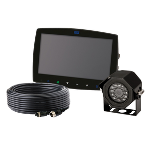 "Camera Kit: Gemineye, 7.0"" LCD, color, 4 pin, expandable up to 3 cameras, 12-24VDC (includes EC7003-M, EC2014-C & ECTC20-4)"