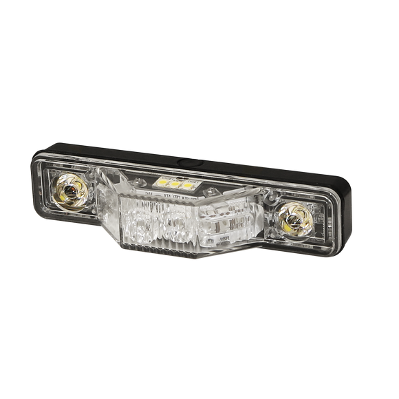 Directional LED: Multi-mount, 12-24VDC, 180 degrees