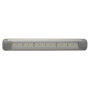 "LED Interior Light: Rectangular, 9.5"", 12-24V"