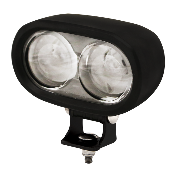 Pedestrican Spotlight: LED (2), 12-80VDC, blue illumination