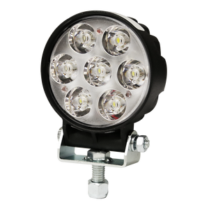 Worklamp: LED (7), flood beam, round 12-80VDC