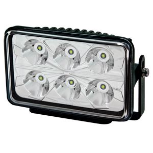 Worklamp: LED (6), rectangle, 12-24VDC