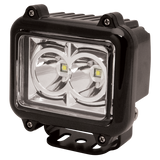 Worklamp: LED (2), square, 12-24VDC