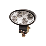Worklamp: LED (4), oval, 12-24VDC