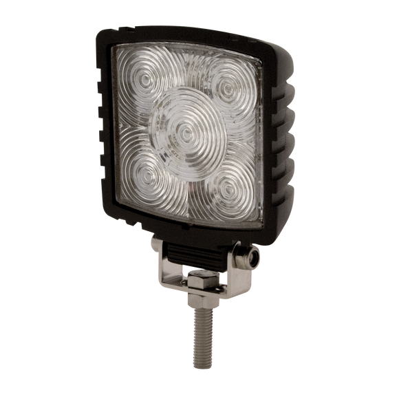 Worklamp: LED (4),  square, 12-24VDC