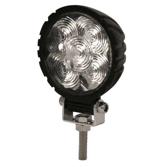Worklamp: LED (5), round, 12-24VDC