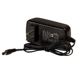 Replacement Wall Charger: Use with EW2461 & battery powered beacon, 110VAC