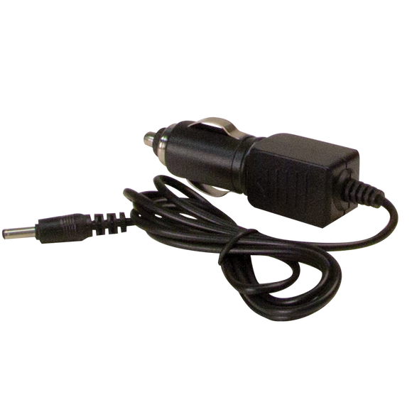 Replacement Vehicle Charger: Use with EW2461 & battery powered beacon, 12-24VDC