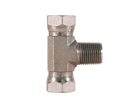 Female Pipe Swivel to Male Pipe Branch Tee