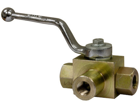 3 Port High Pressure Ball Valve