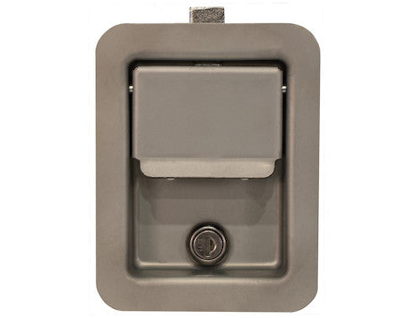 Standard Size Rust Resistant Flush Mount Rectangular Paddle Latch