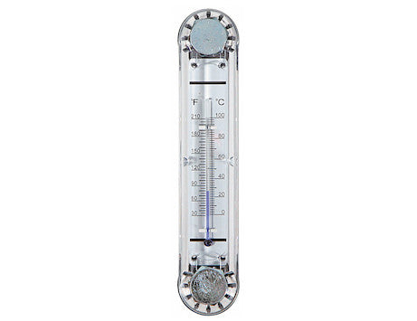 Oil Level Gauge With Temperature Indicator (Poly)