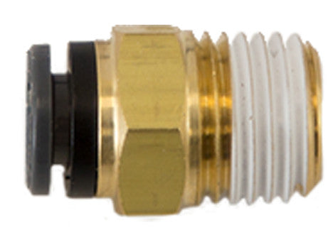 Male Connector - Brass & Polymer